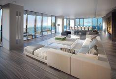 Regalia Miami Condos Sunny Isles Beach Miami Florida- I want this as my living room.