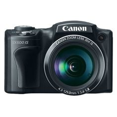 Canon PowerShot SX500 IS 16 MP 30X...    $249.99