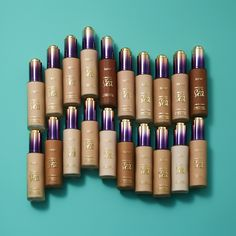 What?!?! New shades of our Rainforest of the Sea water foundation?!?! That's right! Not only does it quench dry skin as it covers and masks any redness, dark spots and uneven skin tone, while softening the look of pores and fine lines, but it's now available in 21 shades on tarte.com! #naturalartistry #tarteunderthesea #rethinknatural