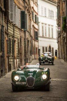 Jaguar Celebrates Another Successful Mille Miglia