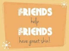 I love referrals! Send a friend my way and I will show you how to get your product free! www.devenelambie.nerium.com