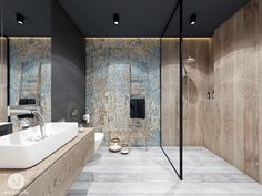 32 Amazing Public Bathroom Design Ideas, Simply incorporate a superior looking round shower drape and also you will have a distinct design others are going to certainly appreciate. Small Bathroom Paint, Bathroom Renos, Bathroom Design Small, Bathroom Interior, Master Bathroom, Public Bathrooms, Grey Bathrooms, Beautiful Bathrooms, Bad Inspiration