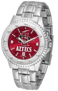 Mens San Diego State Aztecs - Competitor Steel AnoChrome Watch