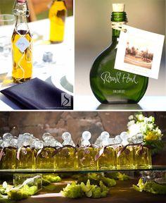 Savory Wedding Favors: Olive Oil