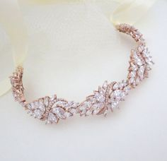 Hey, I found this really awesome Etsy listing at https://www.etsy.com/listing/241724497/rose-gold-headband-bridal-headpiece-rose