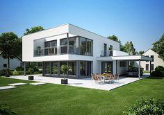 das kern haus cube verk rpert kompromisslosigkeit in form und funktion die fassadengestaltung. Black Bedroom Furniture Sets. Home Design Ideas
