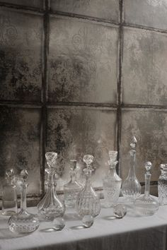 Amazing Cole & Sons wallpaper - add some crystal and gold/white accents.
