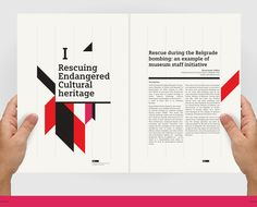 Protecting Cultural Heritage in Times of Conflict by 8 Bis Agency , via Behance