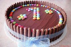 Creative Cake Decorating, Creative Cakes, How To Make Cake, Food To Make, Kiss The Cook, Food Design, Chocolate Cake, Buffet, Birthday Cake
