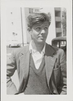 Peter Orlovsky, 1955, by Allen Ginsberg