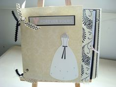 Wedding Scrapbook  Premade Wedding Album  Wedding Photo Album  Wedding Mini  Album  Bride and Groom  Creme  Black  WhitePremade Wedding Scrapbook Mini Album 6x6 Wedding Gift   Wedding  . Premade Wedding Scrapbook. Home Design Ideas