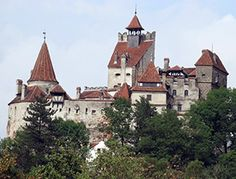 """Bran Castle - Dracula's Castle  Initially, the Bran Castle (in Slavic """"brana"""" means """"gate"""") was a stronghold known as Dietrichstein, built by the Teutonic Knights in 1212, stronghold that was conquered by the Saxons living in Transylvania towards the end of the 13th century."""