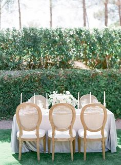 intimate garden wedding tablescape lush grey velvet table linen Ashley Rae Photography