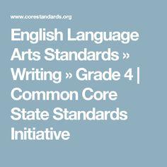English Language Arts Standards » Writing » Grade 4   | Common Core State Standards Initiative