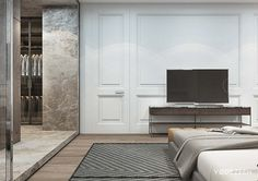 Versatile interior of a spacious residence in Kiev on Behance