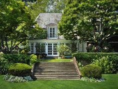 Greenwich CT - love the extra wide steps leading to & from the home .