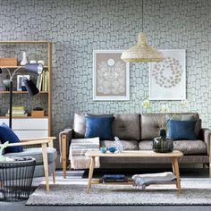 Little Trees wallpaper - Miss Print | Idées pour la maison
