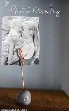 DIY Photo Display {U