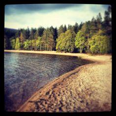Loch Morlich, cairngorm national park.