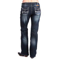 women's cowgirl tuff jeans | Women / Jeans & Pants / Jeans / Women's Cowgirl Tuff Indigo West Jeans ...