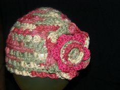 Pretty knit hat for baby -- Tunisian stitch