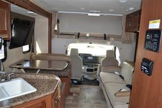 2016 New Thor Motor Coach Freedom Elite 28H Class C in New Hampshire NH.Recreational Vehicle, rv, 2016 THOR MOTOR COACH Freedom Elite28H, Indigo Exterior, Interior-Milano Brown II, Olympic Cherry Cabinetry,