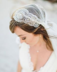 Theodora's silver and pearl beadwork form an exquisite eye-catching motif with pearl bunches at each side of this Juliet Cap veil. Delicate soft tulle flows elegantly, channelling a real bohemian laid back vibe. This is our all time best-selling veil, a real favourite for the bohemian and vintage loving brides alike. Theodora comes in our …