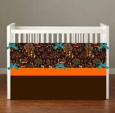 Norweigen Woods Crib Bedding