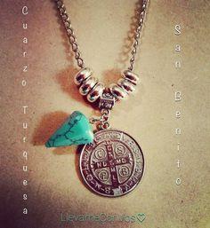Collar SanBenito+Cuarzo Turquesa - LlevameConVos♥