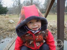 Natibaby Foxes wrap scrap softshell winter jacket made by KodoBa #Natibaby #Foxes #KodoBa #wrapscrap #winterjacket