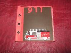 fireman scrapbook - Google Search