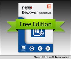 MOUNTAIN VIEW, Calif., May 16, 2013 (SEND2PRESS NEWSWIRE) -- Remo Software has released a free data recovery tool which is available for everyone. Now, there is no need to spend dollars to recover files, photos and other important data; as users can get back their data without even spending a penny. Remo Recover Windows Free Edition is a powerful recovery utility built on the award-winning Remo Recover Engine that uses deep scan techniques...