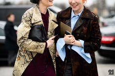 Le 21ème / Katie Shillingford + Emma Wyman | Paris  // #Fashion, #FashionBlog, #FashionBlogger, #Ootd, #OutfitOfTheDay, #StreetStyle, #Style