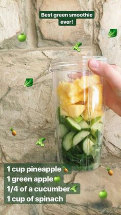 Green Smoothie Recipes For Weight Loss.Check Out These Superb Green Smoothies Re. - Green Smoothie Recipes For Weight Loss.Check Out These Superb Green Smoothies Recommendations - Smoothies Vegan, Easy Smoothie Recipes, Good Smoothies, Smoothie Drinks, Detox Drinks, Smoothie Diet, Spinach Smoothie Recipes, Cucumber Smoothie, Freezer Smoothies