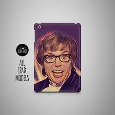 Austin Powers iPad Case White Rabbit iPad Mini 4 Case iPad Air 2 Case Tablet Case iPad 4 Case iPad M