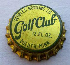 Golf Club bottle cap