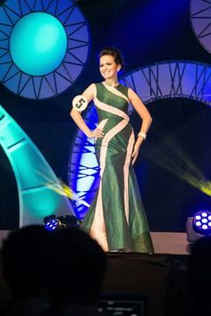 Pageant gown by EJ Relampagos