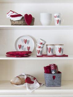 Sydän Mug | Pentik Christmas 2017 | Heart mug