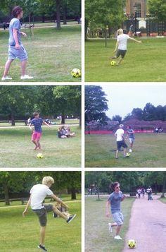 FOOTBALL <3 One Direction, 1D Harry Styles, Niall Horan, Liam Payne, Zayn Malik, Louis Tomlinson, Hazza, Harreh, Nialler, Lou, Tommo .xx