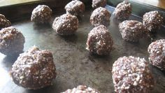 Recipes for a Postmodern Planet: Cocoa-nut Date Truffles