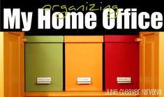 organized home oofice
