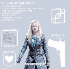 #The100 - Clarke Griffin