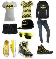 cute outfits batmn sweatshirt cute batman outfit - - Express your fashion Batman Outfits, Emo Outfits, Summer Outfits, Girl Outfits, Casual Outfits, Cute Outfits, Fashion Outfits, Batman Shoes, Nerd Fashion