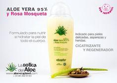 ALOE VERA 95% y Rosa Mosqueta