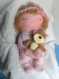 Snuggles PDF Cloth Doll Pattern   Great Beginner by PeekabooPorch, $9.00