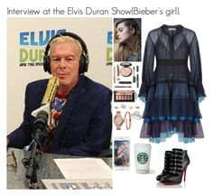 """""""Interview at the Elvis Duran Show(Bieber's girl)."""" by tatabranquinha ❤ liked on Polyvore featuring beauty, Christian Louboutin, Chloé, Free People and Yves Saint Laurent"""