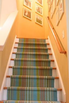 dash and albert carpet as stair runner (project in Riley's future...)