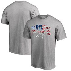 Carolina Panthers Pro Line by Fanatics Branded Banner Wave T-Shirt - Heathered Gray