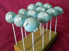40th Birthday Cake Pops - nice