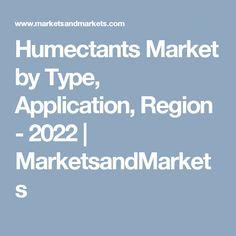 Humectants Market by Type, Application, Region - 2022   MarketsandMarkets